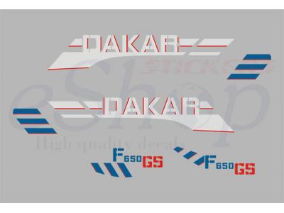 Bmw F650 Gs Dakar 2004 Set Eshop Stickers