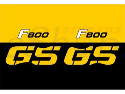 Bmw F800 Gs 2008 Set Eshop Stickers