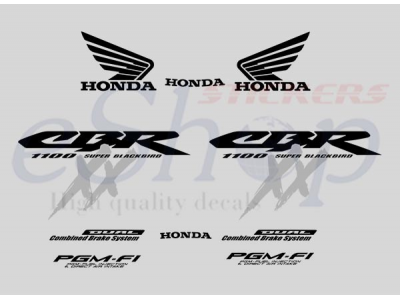 Car Symbols And Names >> CBR 1100XX 2003 - 2004 set | Eshop Stickers