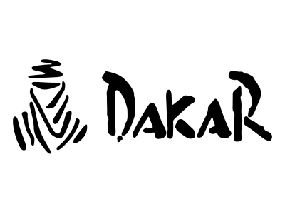 Dakar Logo 2 on custom sports cars