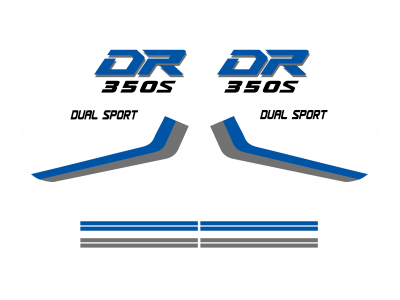 Dr 350s 250s Set Model 93 Eshop Stickers