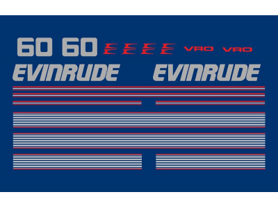 Evinrude 60 70 Hp Vro Set Eshop Stickers