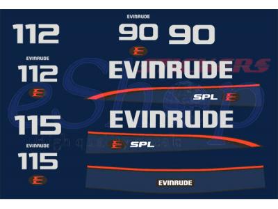 Car Symbols And Names >> 90 112 115 Hp SPL Two stroke 1995 1998 set | Eshop Stickers