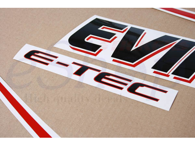 150 Hp E Tec 2004 2009 White Set Eshop Stickers