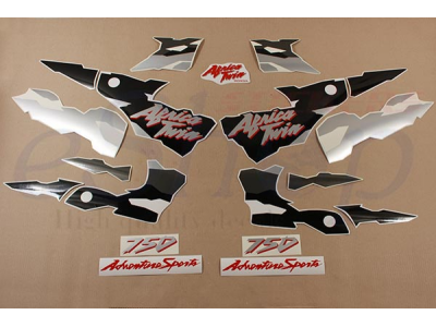 Africa Twin 1995-1998 Blue Black set | Eshop Stickers