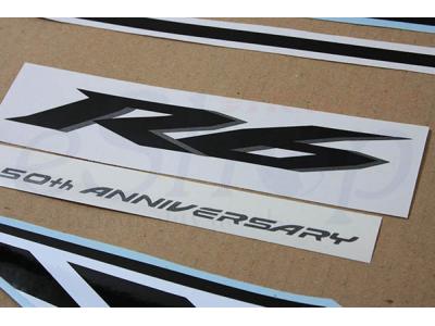 Yamaha R Th Anniversary Decals