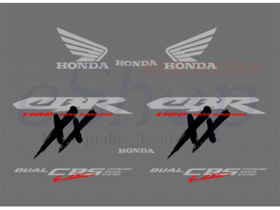 Cbr 1100xx 1997 1998 Eshop Stickers