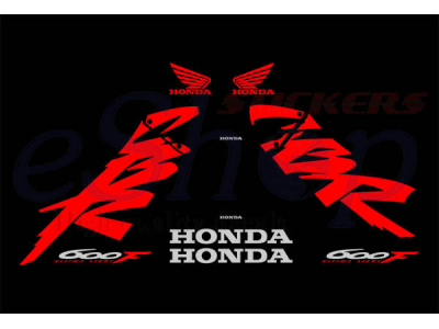 Cbr 600 F 1999 2000 Set 2 Eshop Stickers