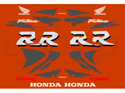 Cbr 900rr 1998 1999 Set 2 Eshop Stickers