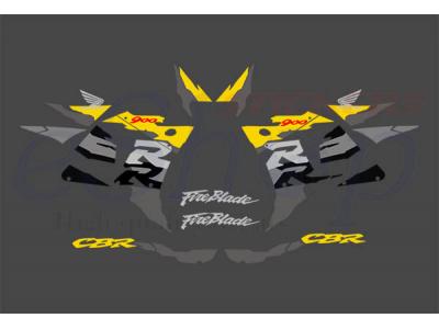 Car Symbols And Names >> CBR 900RR 919RR 1996 1997 set #1 | Eshop Stickers