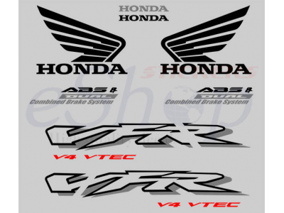 VFR 800 interceptor vtec 2002 2003 set #1 | Eshop Stickers