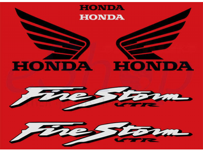 Vtr 1000f Fire Storm 2000 03 Set Eshop Stickers