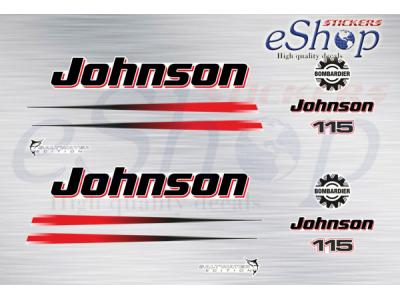 115 Hp 2 Stroke 2002 2006 set | Eshop Stickers