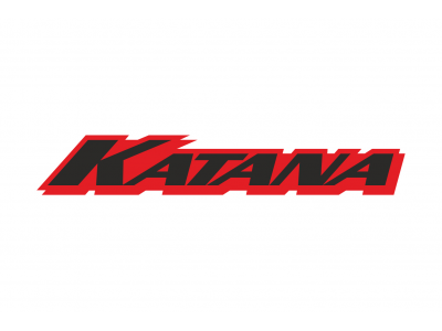 Katana Logo 3 2 Colors Eshop Stickers