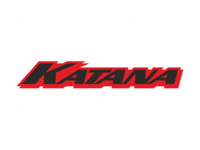 Katana Logo 3 2 Colors Eshop Stickers