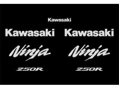 Ninja 250r 2008 2013 Set Eshop Stickers