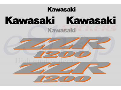 Car Symbols And Names >> ZZR 1200 2002 2005 set | Eshop Stickers