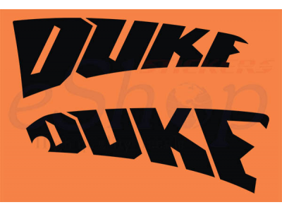 Duke 640 2002 Set Eshop Stickers