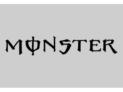 Monster Logo 1 Eshop Stickers