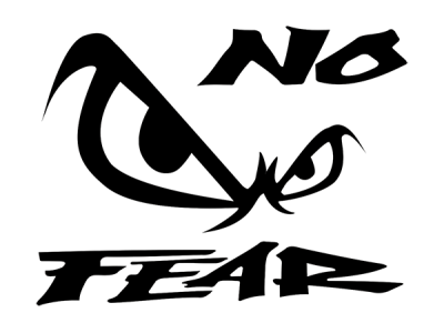 No Fear Logo 1 on old sports cars