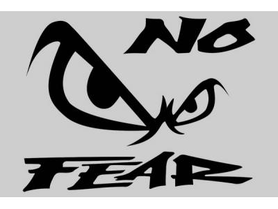 No Fear Logo 1 Eshop Stickers
