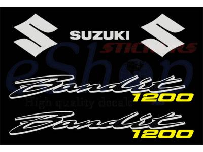 Car Symbols And Names >> Bandit GSF 1200N 2001 2006 set | Eshop Stickers