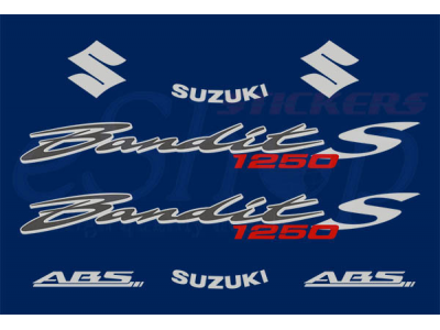 Bandit Gsf 1250s 2006 Set Eshop Stickers