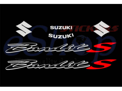 Bandit Gsf 650s 2005 2008 Set Eshop Stickers