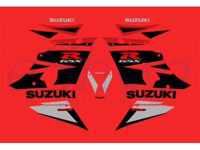 Cars 3 Characters Names >> GSXR 1000 2003 K3 red set | Eshop Stickers