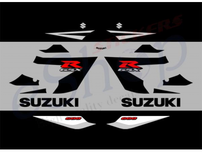 gsxr    black set eshop stickers