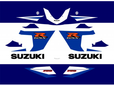 Gsxr 750 K5 2005 Set 2 Eshop Stickers