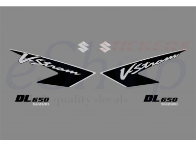 V Strom Dl 650 2005 2008 Set 4 Eshop Stickers