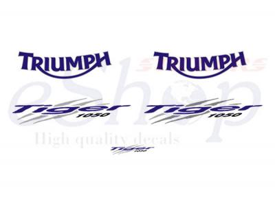 Car Symbols And Names >> Tiger 1050 2006 2012 set #1 | Eshop Stickers