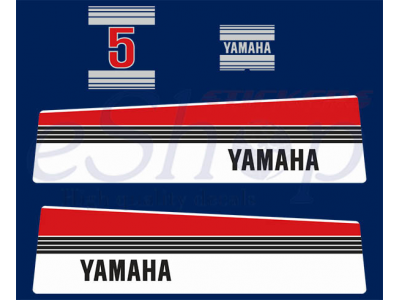 Yamaha Outboard Decals