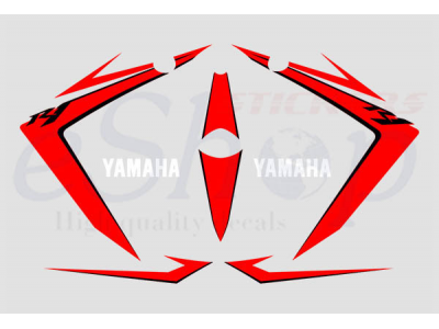 yzf r1 2007 white red set eshop stickers. Black Bedroom Furniture Sets. Home Design Ideas