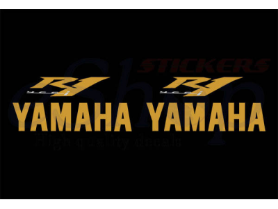 Yzf R1 2009 Black Eu Set Eshop Stickers