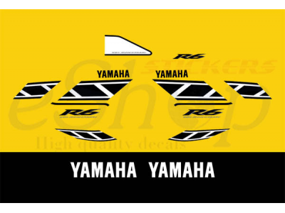 Yzf R6 2006 50th Anniversary Set Eshop Stickers