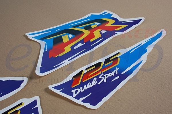 Dr 125 Dual Sport 1996 Set Eshop Stickers