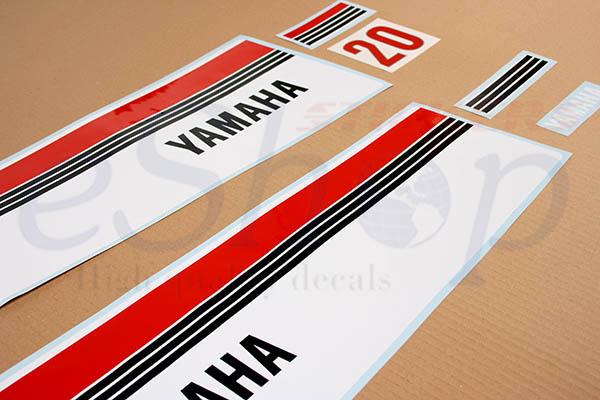 20 Hp two stroke 1980 set | Eshop Stickers